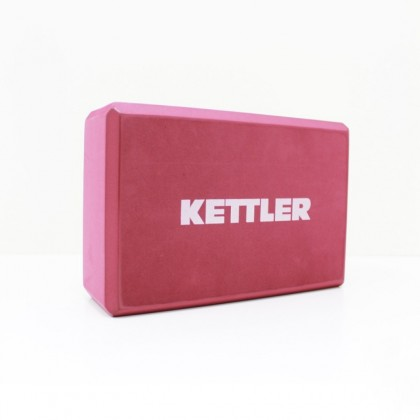 KETTLER Yoga Block (Red)